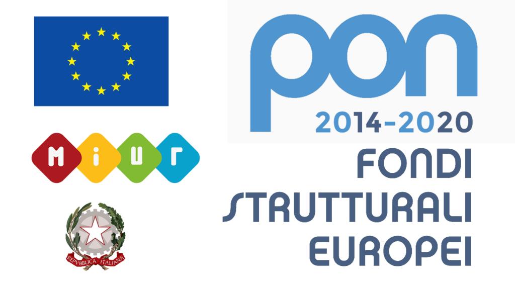 Logo: PON 2014-2020